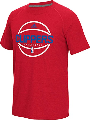 NBA Los Angeles Clippers Men's Pre-Game Graphic Climacool Ultimate Short Sleeve Tee, (Pre Short Sleeve Graphic T-shirt)