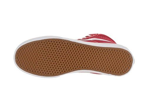 Racing Slim Vans Ankle Skateboarding Canvas White Shoe Red High Hi Sk8 True qpZ1w8R