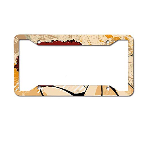 Headwind GR License Plate Frame Auto Truck Car Front Tag Metal 6