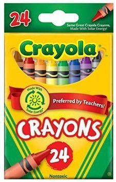 Crayola Crayons, 24 count (52-3024) Case of 12 packs