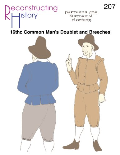 [16th Century Common Man's Doublet & Breeches Pattern] (Elizabethan Costume Patterns)