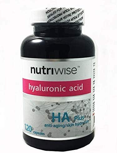 Nutriwise Ha Plus High Potency Hyaluronic Acid + Collagen 120 Capsules Buy 3 Get 1 Free