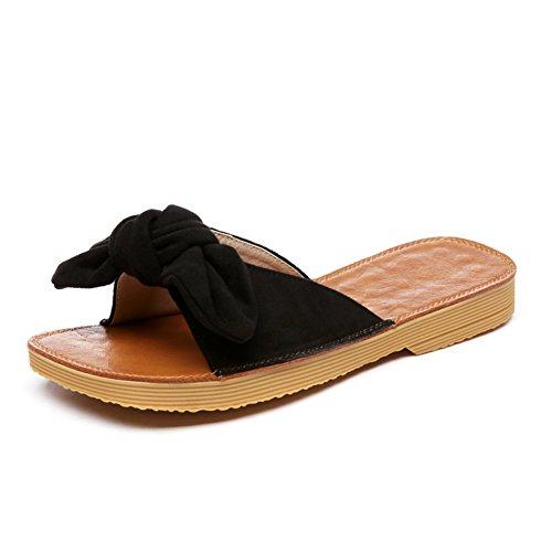 Zapatillas de verano de moda/Pajarita damas sandalias B