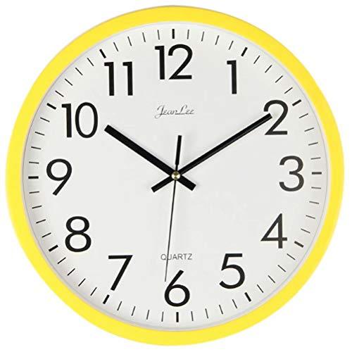 MvchennL Wall Clock for Children 10 inches Silent Non-Ticking Quartz Decorative Indoor Clock, Battery Operated Wall…
