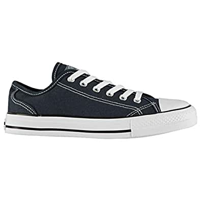 SoulCal Womens Ladies Canvas Low Trainers Sneakers Sports Shoes Navy UK 4 (37)