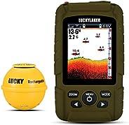 LUCKY Portable Sonar Fish Finder Boat Depth Fishing Fish Finders Waterproof Handheld Wireless Fishing Finder K
