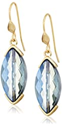 "Kenneth Cole New York ""Blue Rays"" Drop Earrings"