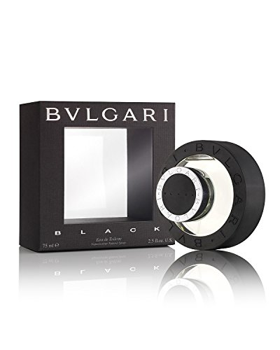 Bvlgari Black for Unisex | Eau de Toilette | Created in 1998 by Annick Menardo | Green, Woody, Earthy Fragrance with a Smokey Finish | 75 mL / 2.5 oz ()