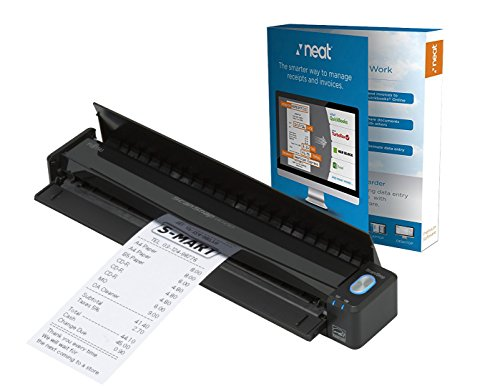 Fujitsu ScanSnap iX100 Mobile Scanner Powered with Neat, 1 Year Neat Premium License]()