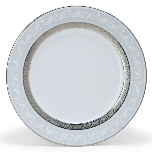 (Noritake Crestwood Platinum Accent Plate, 9-inches)