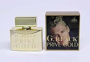 G. Black Prive Gold by Paris for men,Eau de parfum 100ml
