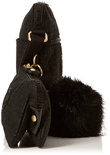 Monederos black Pylon Negro Kipling Foxwell Emb Mujer Duo 1nEFBT