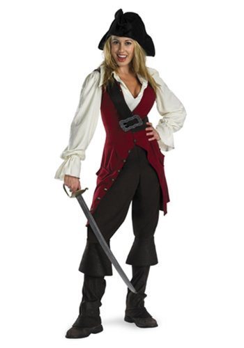 [Disguise Pirates Of The Caribbean Elizabeth Pirate Costume Deluxe Adult by MCS] (Elizabeth Deluxe Adult Costumes)