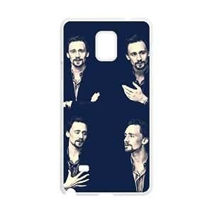 HXYHTY Design Case of Tom Hiddleston Phone Case For Samsung Galaxy note 4 [Pattern-5]