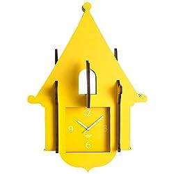 WOLF 333882 Jigsaw Cuckoo Clock, Yellow