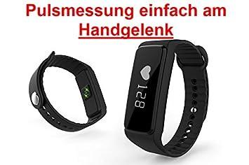 Bluetooth Fitness Activity Tracker - Pulsómetro, Reloj de pulsera ...