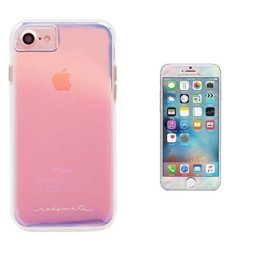 the best attitude e07b4 e2d70 Amazon.com: Case-Mate iPhone 7 Case and Gilded Glass Screen ...