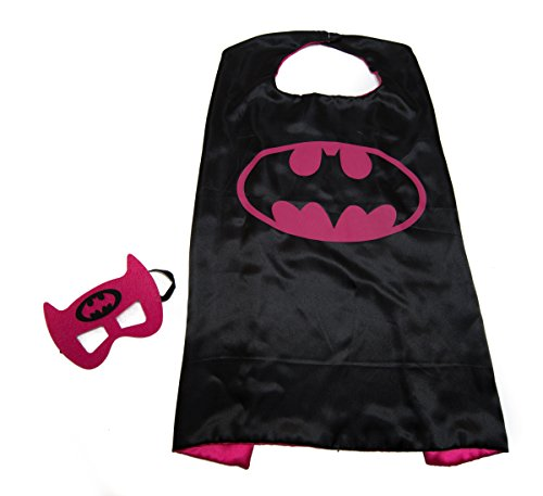 Kids Capes Superhero and Princess Cape and Mask Sets, Great for Dressing Up with Costumes & Playing (Superheroes Outfit)