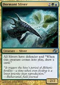 Magic: the Gathering - Dormant Sliver - Planar Chaos
