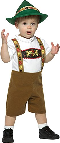 German Baby Outfit - FunFill Infant Lederhosen Boy Costume Size: