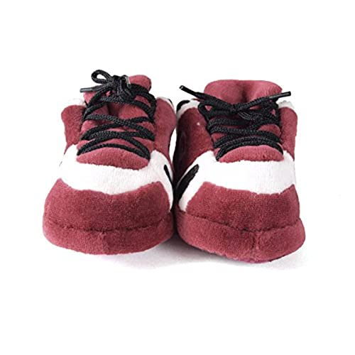 high-quality Happy Feet Mens and Womens Oklahoma Sooners NCAA Baby Slippers a8accfbd4