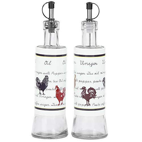 Rooster Oil - Home Basics Country Rooster Food Storage (Oil and Vinegar)