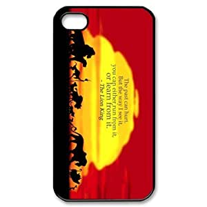Custom Your Own Personalised Hard The Lion King iPhone 4/4S Cover , Snap On The Lion King iPhone 4/4S Case