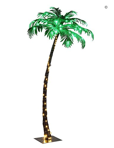 Lightshare Lighted Palm Tree, (Palm Tree Outdoor)