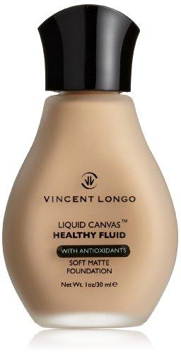 Cosmétiques Liquid Canvas Fondation Vincent Longo Healthy Fluid, Sandy Beige, 1 once