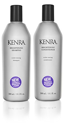 Kenra Brightening Shampoo and Conditioner Set, 10-Ounce