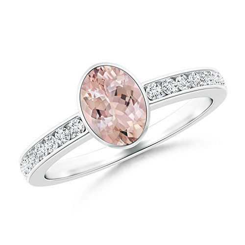 Ladies Channel Set Diamond Bezel - 9