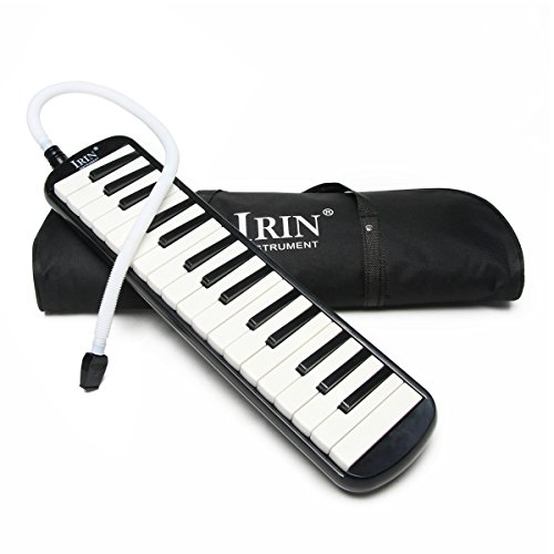 NKTM 32 Piano Keys Melodica Musical Instrument with Carrying Bag for Music Lovers Beginners Childrens's Gift by NKTM