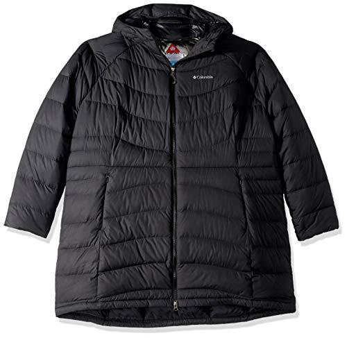 Columbia Winter Haven Plus Size Mid Jacket, 3X, Black
