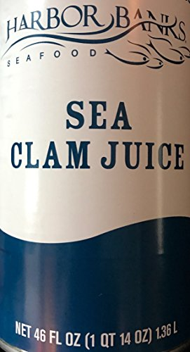 Clam Juice - Clam Juice 46 oz - Seafood Sea Clam Juice from Harbor Banks