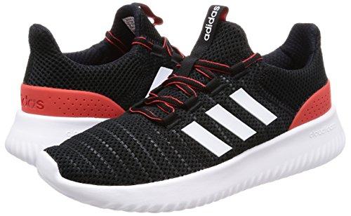 De Black ftwr Homme core Gymnastique S17 core Cloudfoam Adidas Core Chaussures Ultimate White S17 Red Noir zqtxg8