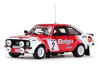 1/43 フォード エスコートRS1800- #2 R.Droogmans/A.Geron(Winner Skoda Rally 1981) 42371