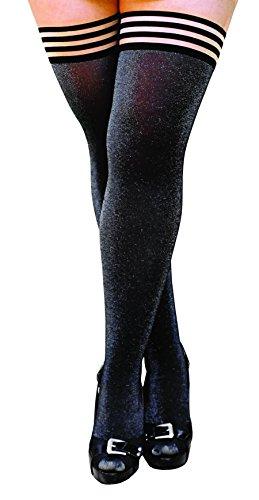 kixies-thigh-highs-kaylee-thigh-highs-black-silver-size-d