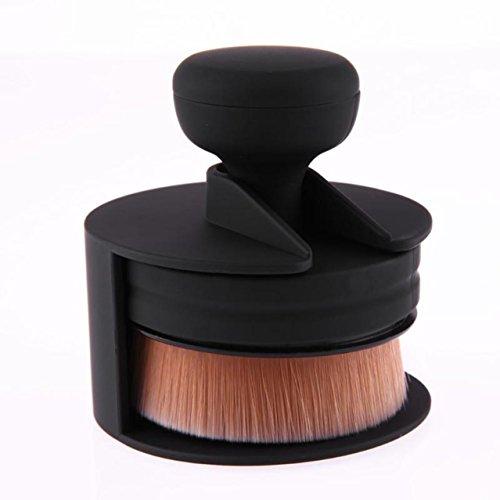1 Piece Flat Round O-Shape Signet-Shape Makeup Brushes Set P