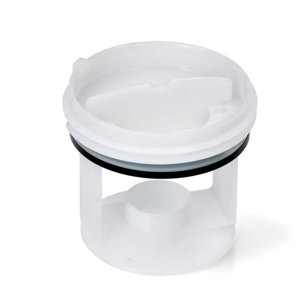 Filtro de agua para bomba de desagüe de lavadora Whirlpool E Smeg ...