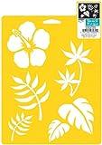 Delta Creative Stencil Mania Stencils, 7 by 10-Inch, SM97-0710 Tropical Plants