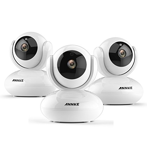 ANNKE Wireless 1080P IP Camera, 3x WiFi Home Security Surveillance Camera for Baby /Elder/ Pet/Nanny Monitor, Pan/Tilt, Two-Way Audio & Super Night Vision