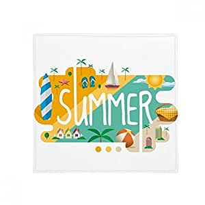 Alfombrilla antideslizante para el suelo de la temporada de verano, cuadrada, para el baño, el salón, la cocina, puerta, 60/50 cm, regalo