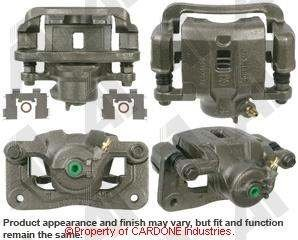 (A-1 CARDONE 19-B3347 Remanufactured Rear Right Friction Choice Caliper w/Bracket)