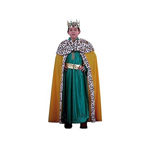 Disfraz de rey verde infantil: Amazon.es: Ropa y accesorios