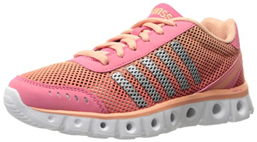 K-Swiss Women's X Lite Athletic CMF Cross-Trainer Shoe, Camellia Rose/Papaya Punch, 8 M US