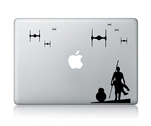 Rey And BB-8 (v2) Star Wars Laptop Macbook Vinyl Sticker Decal