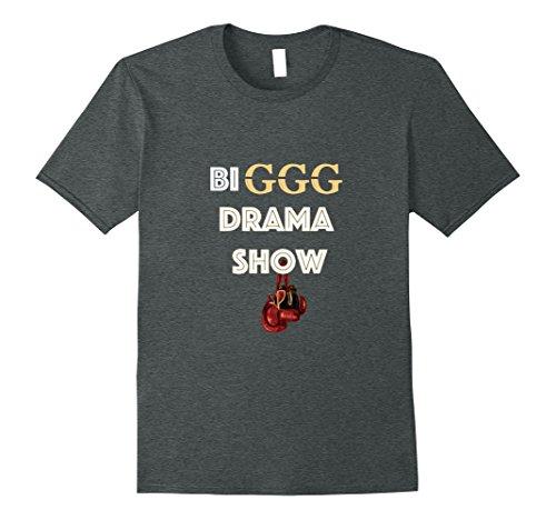 Mens Ggg Golovkins  Big Drama Show  Boxing Tshirt 2Xl Dark Heather