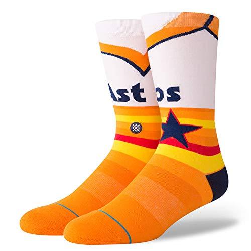 Stance Men's Astros Retro 1975 Orange ()