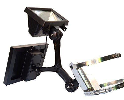 Valley Forge Flag CSFPL-8 Commercial LED Solar Flagpole Light by Valley Forge Flag