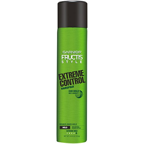 - Garnier Fructis Style Extreme Control Anti-Humidity Hairspray, Extreme Hold, 8.25 oz.